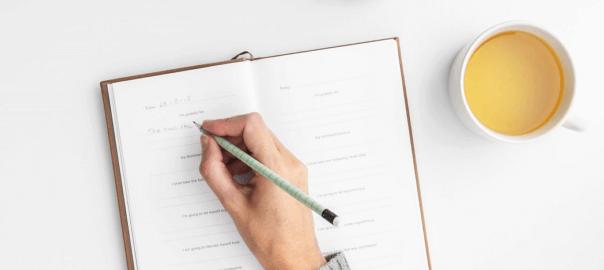 gezond gewicht met een eet dagboek 1048