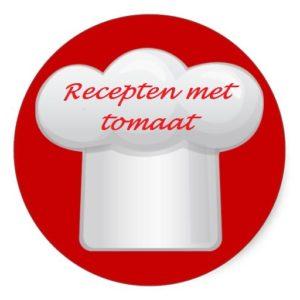 Gezond avondeten met tomaat