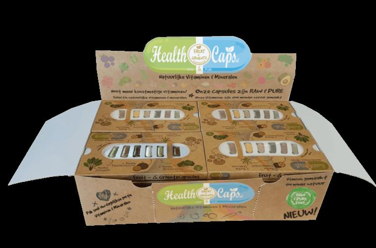 Gratis proefverpakking Healthcaps!
